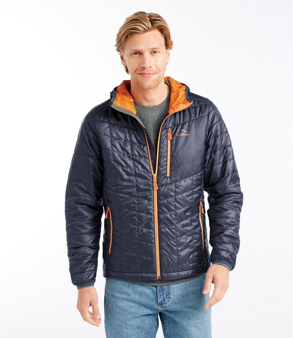 Men's PrimaLoft Packaway Hooded Jacket