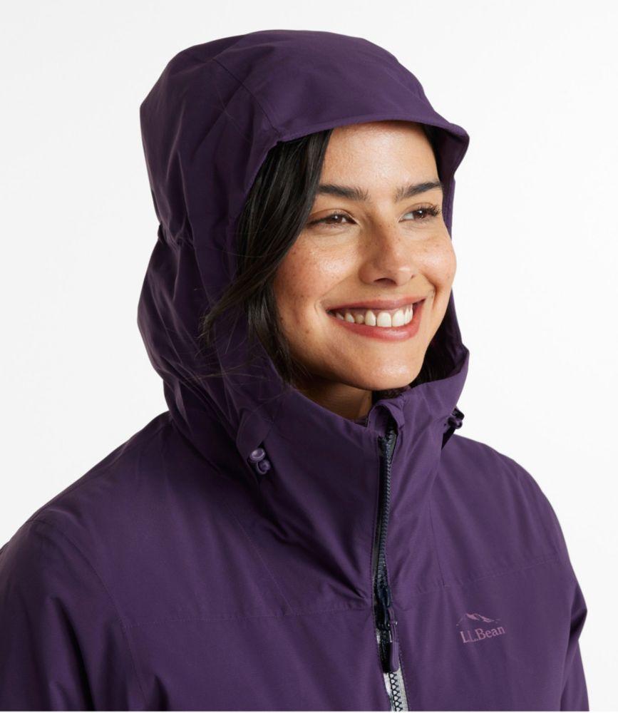 Mens Womens Waterproof Breathable Packaway Raincoat Long Coat Size L 14