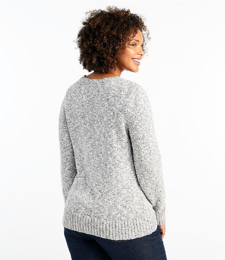 Cotton Ragg Sweater, Marled