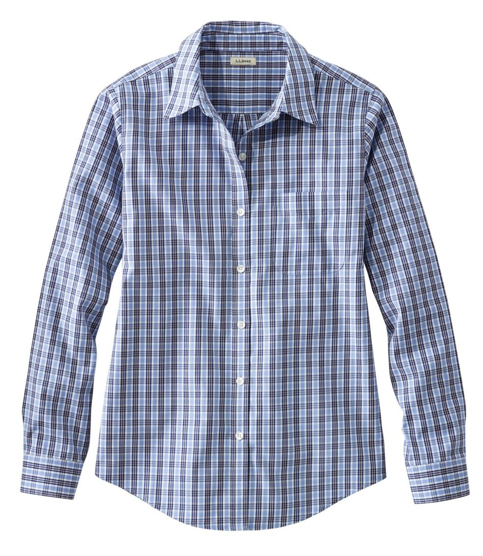 9e50f7178bc5e Women s Wrinkle-Free Pinpoint Oxford Shirt