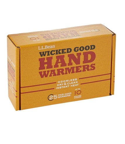 Wicked Good Hand Warmers 25 Pack