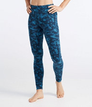 Boundless Performance Tights, Camouflage Branches Print
