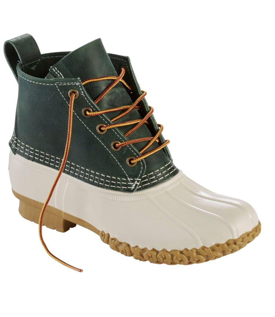 """Small Batch 6"""" L.L.Bean Boots"""
