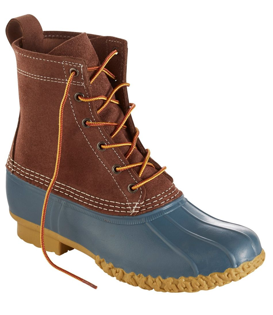 """Small Batch L.L.Bean Boots, 8"""" Suede"""