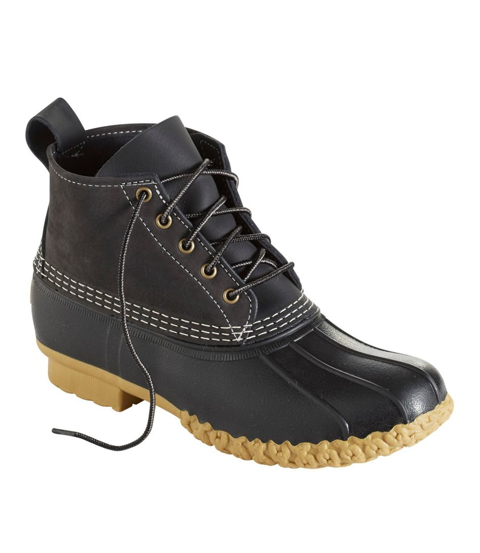 "Men's Small Batch L.L.Bean Boots, 6"" Tumbled-Leather"