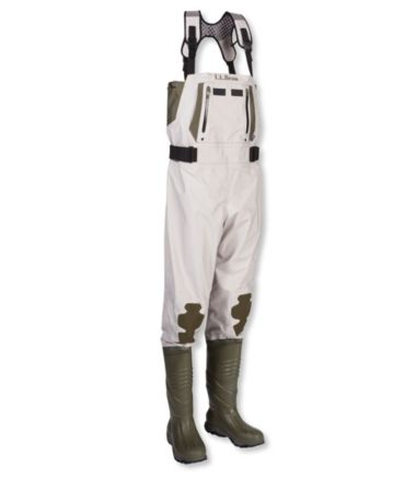 Apex Boot-Foot Chest Waders with Super Seam Technology