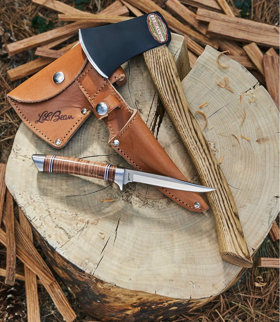 L.L.Bean 2018 Collector's Knife and Hatchet