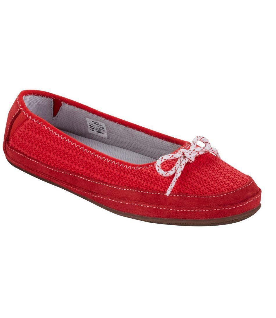 Hearthside Slippers, Ballet Knit