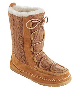 Wicked Good Lodge Boots, Knit