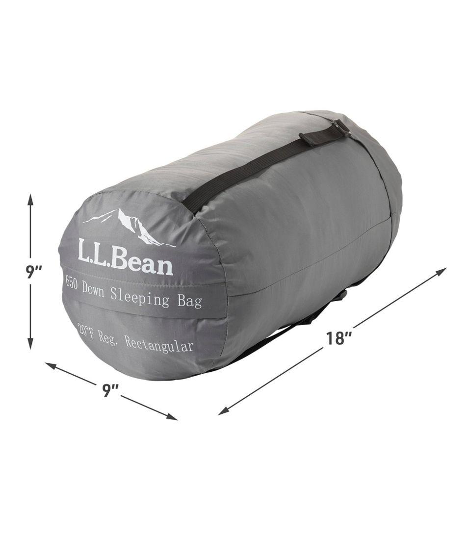 Adults' L.L.Bean Down Sleeping Bag with DownTek, Rectangular 20°