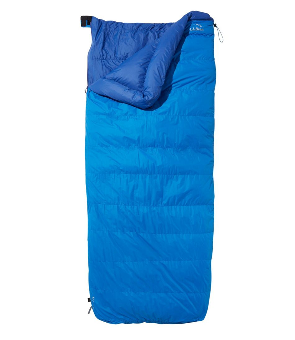 S L Bean Down Sleeping Bag With