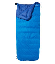 L.L.Bean Down Sleeping Bag with DownTek, Rectangular 20°
