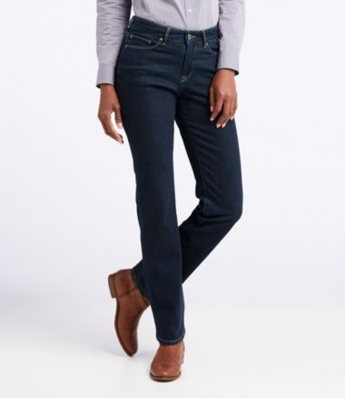 L.L. Bean Knit Jeans, Classic Fit Straight-Leg
