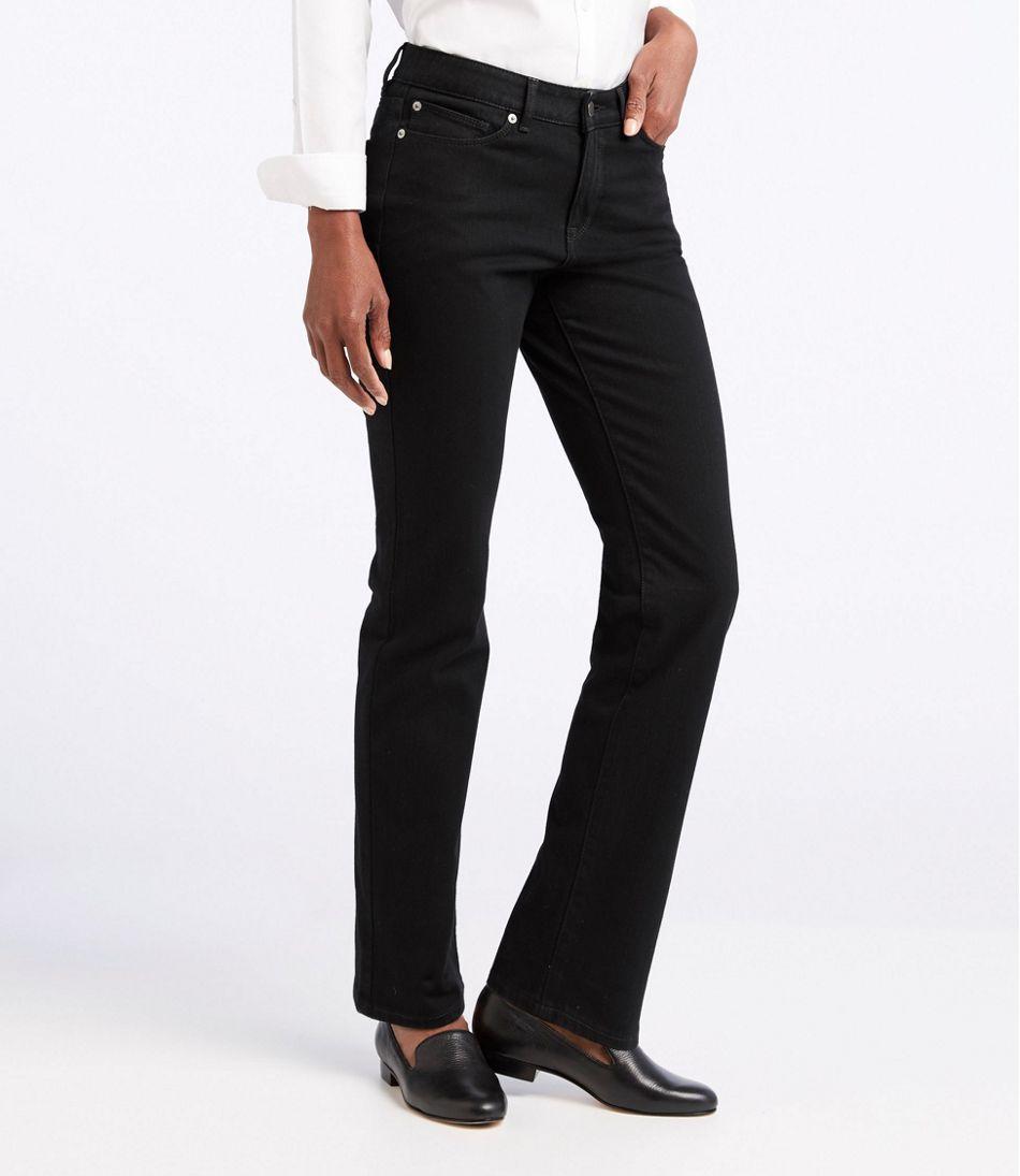 L.L. Bean Knit Jeans, Classic Fit Straight-Leg