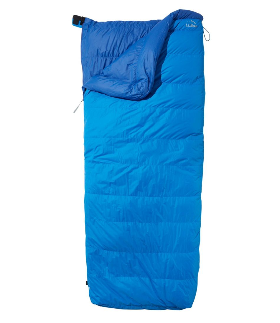 L Bean Down Sleeping Bag With Downtek Rectangular 0