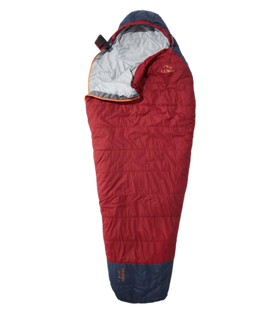 Women's L.L.Bean Ultralight Sleeping Bag, 20° Mummy