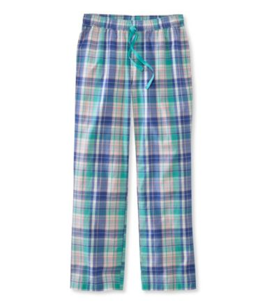 Cotton Sleep Pants, Madras