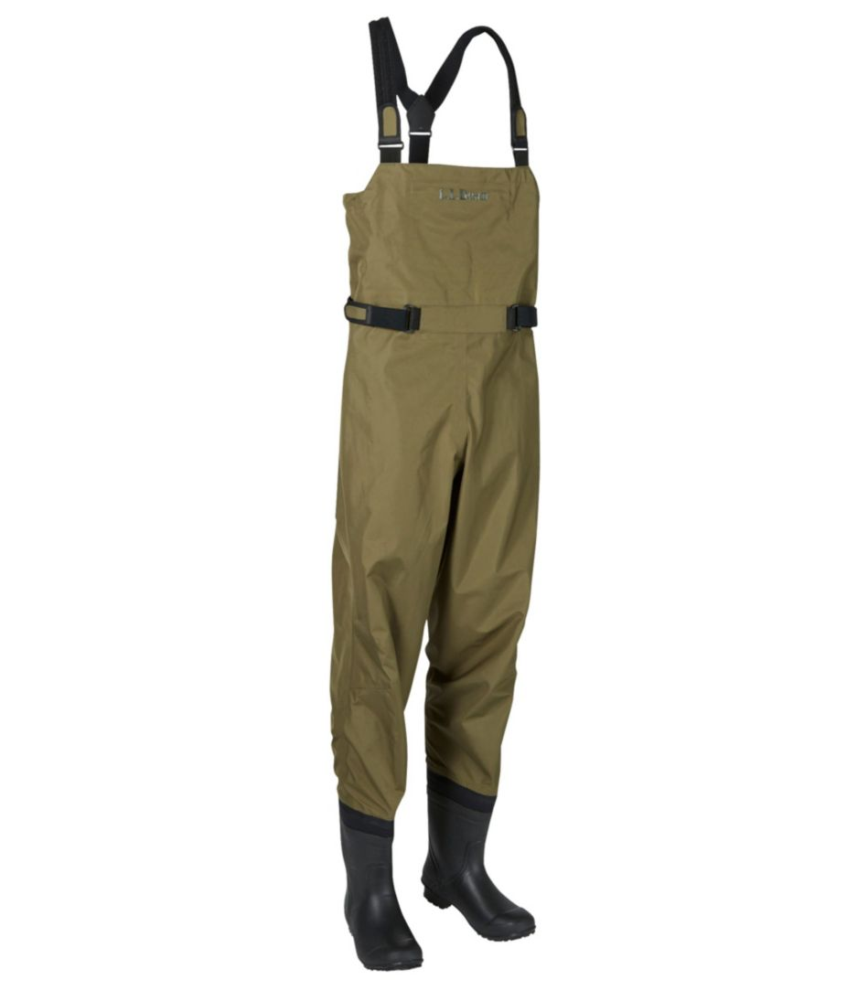Angler Super Seam TEK Boot-Foot Waders