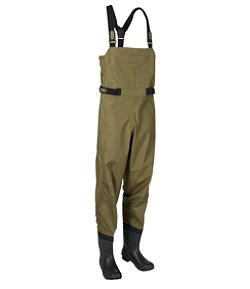 Men's Angler Super Seam TEK Boot-Foot Waders