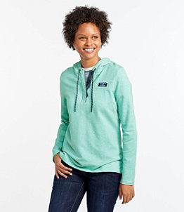 Women's Soft Cotton Rugby, Hoodie Pullover