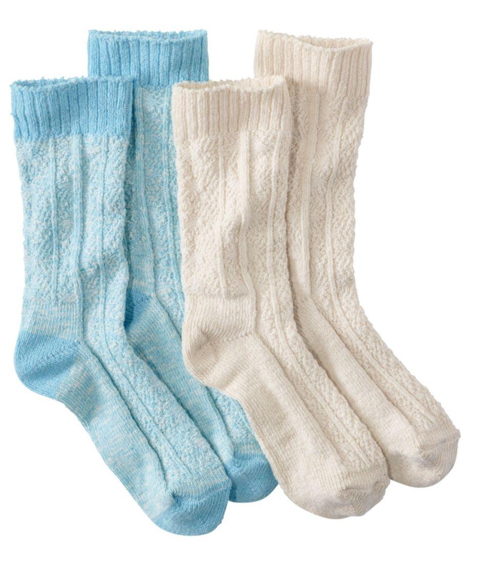 Cotton Ragg Lightweight Crew Sock, Two-Pack