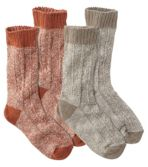 Women's Cotton Ragg Lightweight Crew Sock, Two-Pack