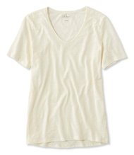 Women's Organic Cotton Tee, Short-Sleeve U-Neck
