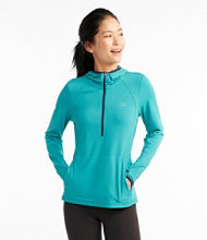 Hillside Performance Top Half-Zip, Misses