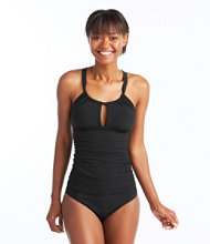 Slimming Swimwear, High Neck Tankini