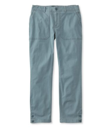 Essential Utility Chinos, Favorite Fit Cropped