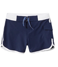 Girls' Sun-and-Surf Shorts