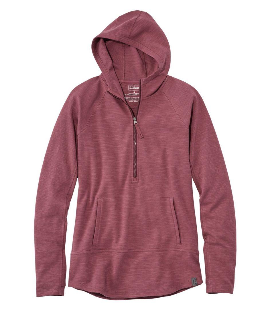 Women's Herringbone Half-Zip Pullover