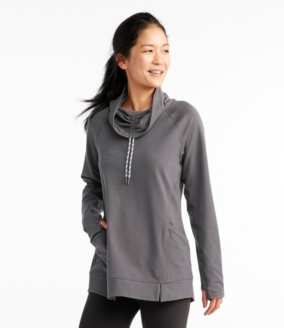 Soft Terry Funnelneck Tunic, Misses