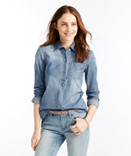 Signature Stretch Denim Shirt