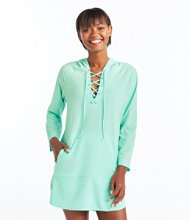 Bean's Stretch Swim Cover-Up, Hooded Tunic