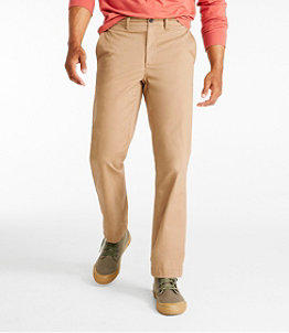 Men's Lakewashed Stretch Khakis, Standard Fit