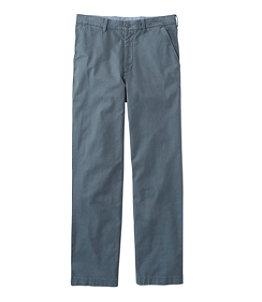 Men's Lakewashed Stretch Khakis, Natural Fit