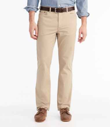 Men's Lakewashed® Five-Pocket Stretch Khakis, Standard Fit