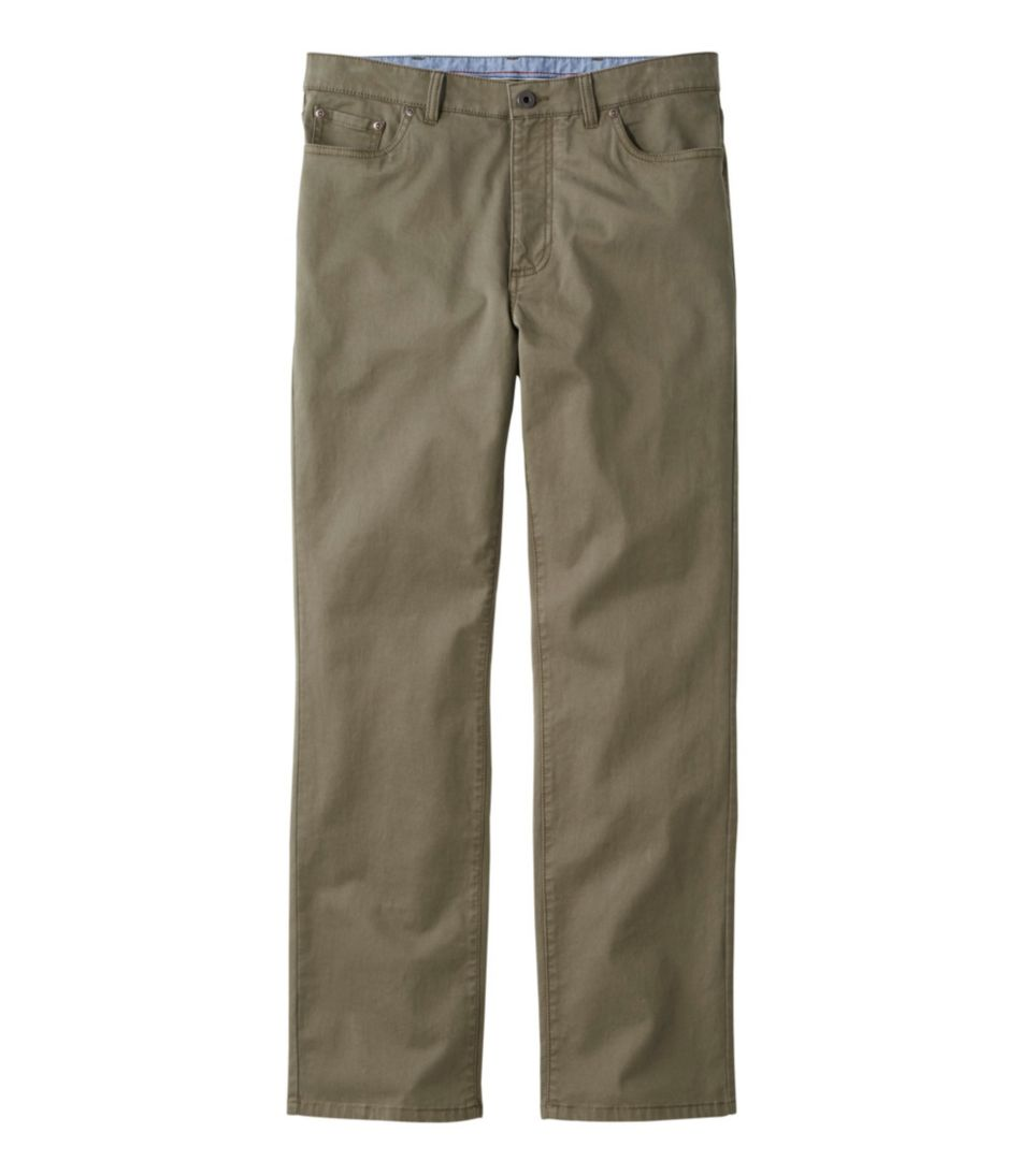 Lakewashed Five-Pocket Stretch Khakis, Standard Fit