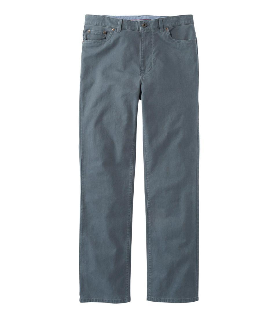 Lakewashed® Five-Pocket Stretch Khakis, Standard Fit