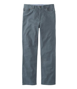 Men's Lakewashed Five-Pocket Stretch Khakis, Standard Fit