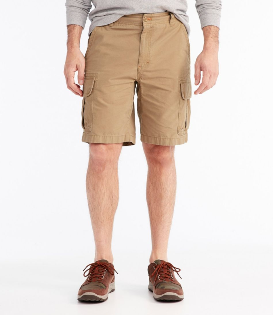 L.L.Bean Allagash Cargo Shorts, Natural Fit