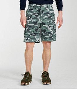 Men's L.L.Bean Allagash Cargo Shorts, Natural Fit Camouflage