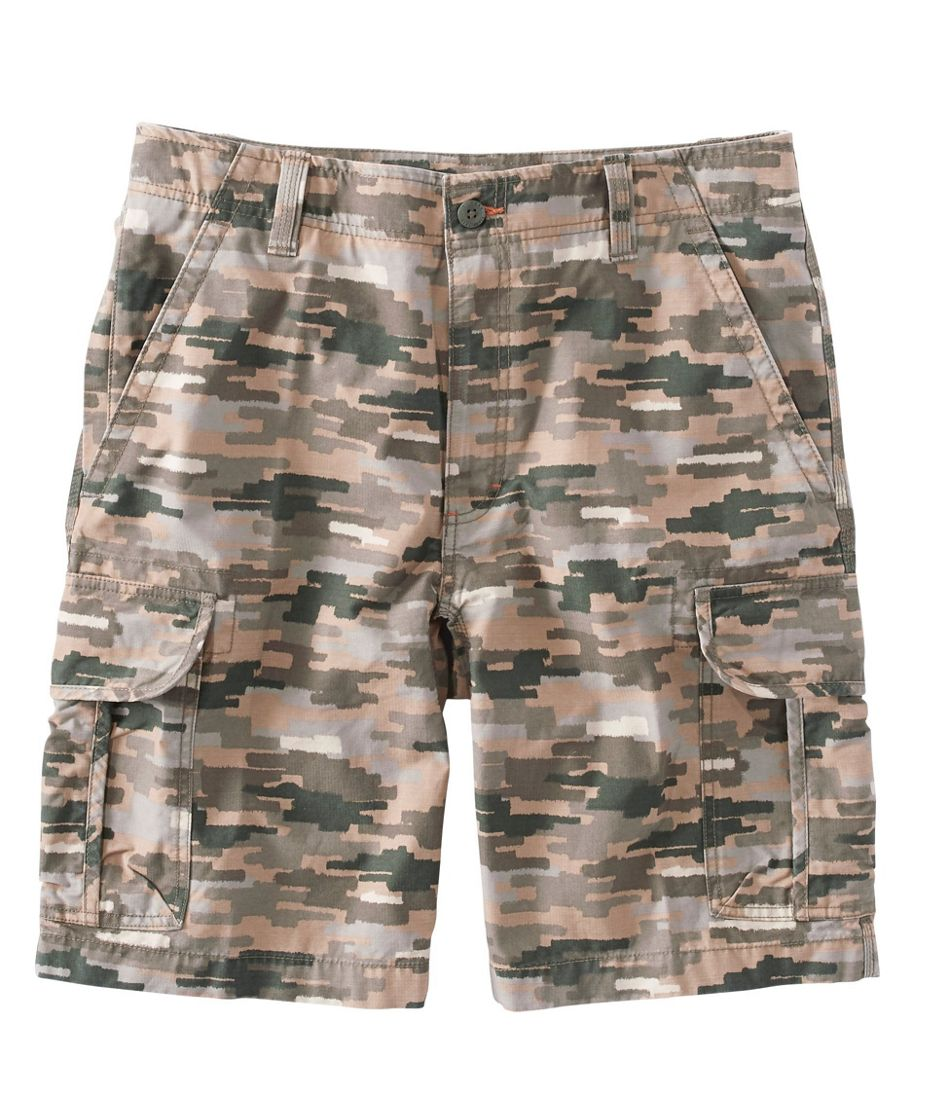 Men's L.L.Bean Allagash Cargo Shorts, Natural Fit Camouflage