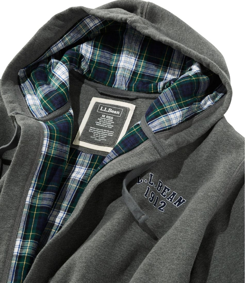 Rugby Robe, Flannel-Lined