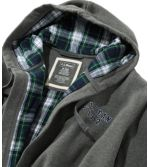 Men's Rugby Robe, Flannel-Lined, Hooded