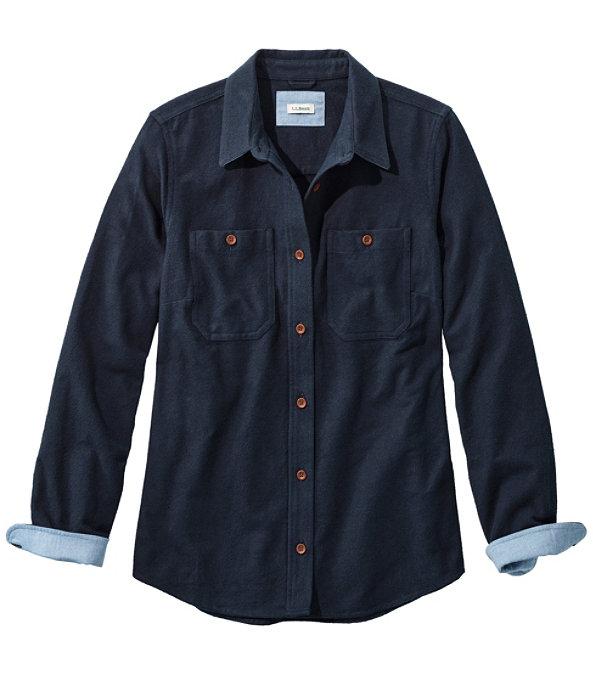 Heritage Chamois Shirt, Classic Navy, large image number 0
