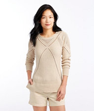 Signature Open-Stitch Sweater
