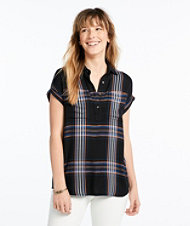 Signature Drapey Popover, Short-Sleeve