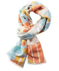 Women's Signature Three-Season Scarf, Print